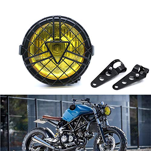 Universal Motorcycle Headlight, 6'' Halogen...