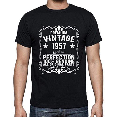 Premium Vintage Year 1957 Cumpleaños de 63 años, Regalo cumpleaños Hombre, Camisetas Hombre cumpleaños, Vendimia Prima Camiseta Hombre, Camiseta Regalo, Regalo Hombre