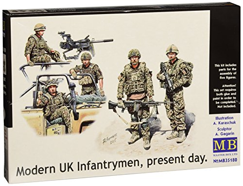Masterbox 1:35 - Modern UK Infantrymen, present day