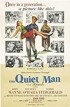 The Quiet Man Poster Movie E 11x17 John Wayne Maureen O'Hara Barry Fitzgerald Victor McLaglen