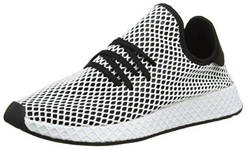 adidas Deerupt Runner, Zapatillas de Gimnasia para Hombre, Negro (Core Black/Core Black/FTWR White), 49 1/3 EU