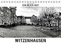 Ein Blick auf Witzenhausen (Tischkalender 2022 DIN A5 quer): Ein ungewohnter Blick in harten Schwarz-Weiss-Bildern auf Witzenhausen (Monatskalender, 14 Seiten )