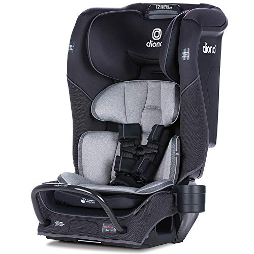 Diono Radian 3QX All-in-One Convertible Car Seat - Jet Black