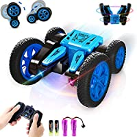 Free To Fly 2.4GHz 4WD Rechargeable Tornado Remote Control Stunt Car