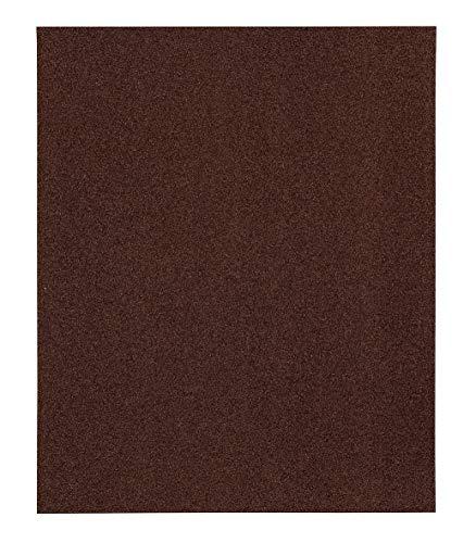 kwb 810418 Schleif-Papier Schleif-Bogen Korund für Holz, Metal, Farbe, Lack und Spachtel, 230 x 280 mm, verschweißt 5 Stk. Korn K-180, Made in Europe