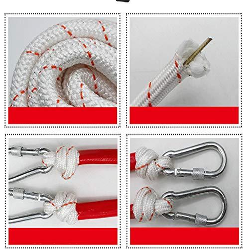yaohuishanghang Cuerda Cuerda De Fuego Fuego De Fuego De Incendio Senderismo Cuerda De Escalada Cuerda para Escalar. (Size : 8 mm Steel Wire 10 m)