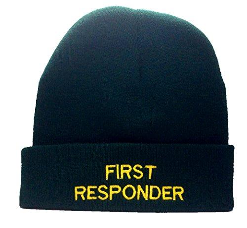 TP Distribution First Responder Hut, Winter Beanie-Wolle Stickerei First Responder