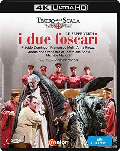 Verdi: I Due Foscari [Teatro alla Scala, 2016] [4K/Ultra HD] [Reino Unido] [Blu-ray]