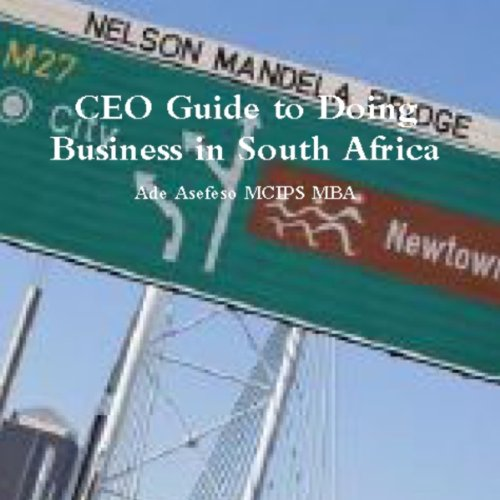CEO Guide to Doing Business in South Africa audiobook cover art