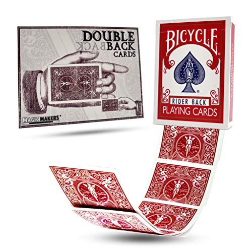 Magic Makers Bicycle Red Double Back Deck