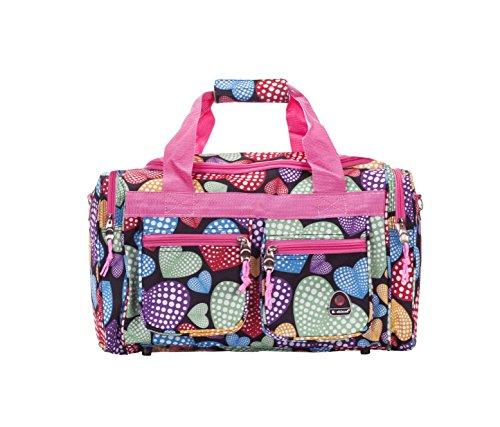 Rockland Duffel Bag, New Heart, 19-Inch