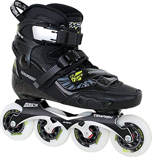 Review Tempish Unisex's Rsc-X Professional Freestyle Inline Skates, Black, 40 EU