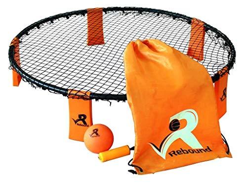 Rebound Ball Game Set - 3 Bälle, Tunnelzug, Pumpe und Regeln - ein episches Ballspiel mit schnellen Reaktionen