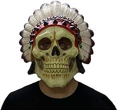 Indianen Skull Mask, latex Halloween Horror, Maske...