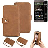 K-S-Trade® 2in1 Mobile Phone Wallet Case For Allview P9