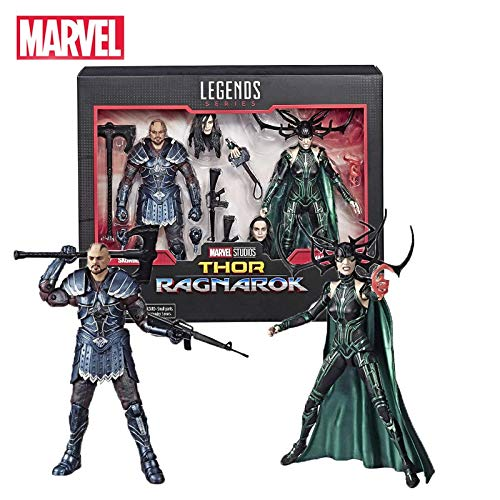 VNUSToys 6 Inches Marvel Legends Series Thor Hela Skurge Collectible Action Figure 17cm Hot Toys New Year Gifts for Children