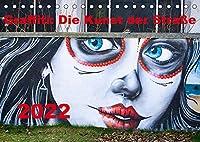 Graffiti: Die Kunst der Strasse (Tischkalender 2022 DIN A5 quer): Graffiti, auch Streetart genannt, ist eine nicht kommerzielle Form von Kunst im oeffentlichen Raum. (Monatskalender, 14 Seiten )