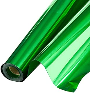 Shindigz Metallic Background 48 Inches Green 75 Feet Roll Photo Booth Background Backdrop Party Decoration Scene Setter