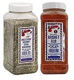 Bolner's Fiesta Uncle Chris Steak and Brisket Rub Seasoning Bundle, 20-32 Oz. Ea.