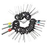 Vpqtettuecu Removal Tool Terminal de cableado eléctrico prensado del Conector Pin Extractor Kit de Herramientas de 26pcs / Set Terminales