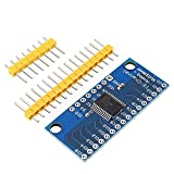 ILS CD74HC4067 - Módulo de tarjeta PCB analógica digital multiplex de 16 canales para Arduino (3 unidades)