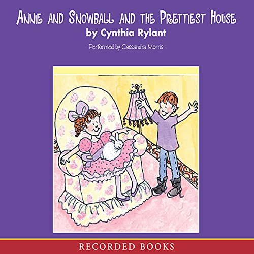 Annie and Snowball audiobook cover art