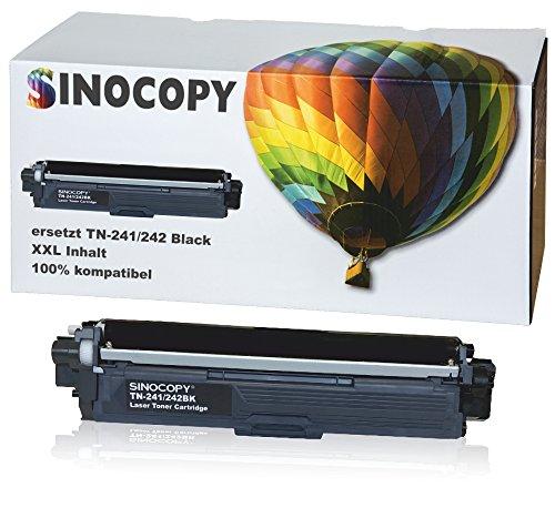 SinoCopy Black XXL Toner für Brother TN-241 TN-245 DCP-9020 CDW HL-3140 3150 3170 CW CDN CDW MFC-9130 9140 9330 TN241 TN245
