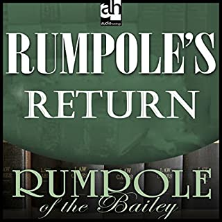 Rumpole's Return audiobook cover art