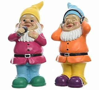 Karaoke Garden Gnomes Unique Novelty