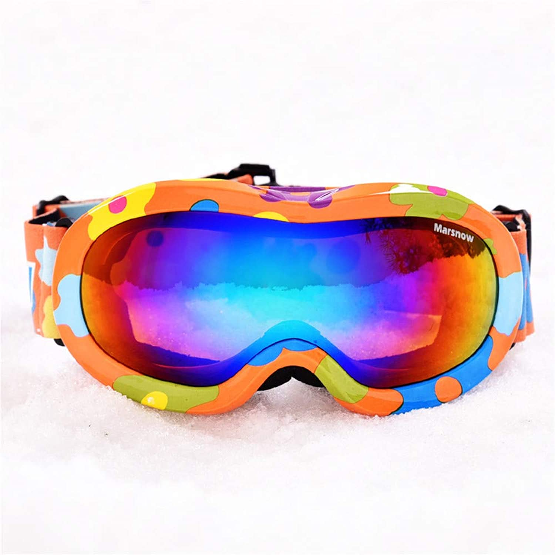 KOMNY Kinder-Skibrille doppelt Anti-Fog-Kokain Myopie UV-Schutzbrille große kugelförmige Kinder-Skibrille, Kinder-Skibrille, Kinder-Skibrille, D B07L35Z8F6  Abholung in der Boutique 535073
