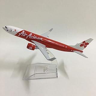 16 cm飛行機モデルAirAsia Red Boeing 737飛行機モデル1:400ダイキャスト金属飛行機