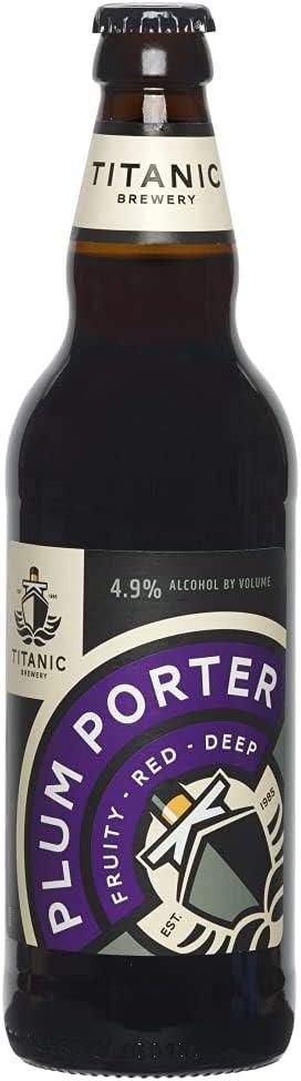 Houston Mall Titanic Dark Strong Plum Save money Beer Porter 500ml
