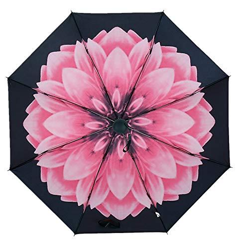 JUNDY Paraguas Plegable a Prueba de Viento de la protección...