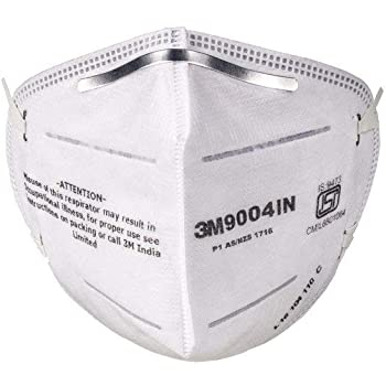 3M 9004 IN Particulate Respirator (White) - Pack of 10