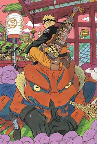 Naruto 1000 Pieza Puzzle Uzumaki Naruto/Kurama Puzzle de Adultos Juguete Educativo Anime Puzzle de Madera DiscomPresione Juguete 2D Recreativo Puzzle Game Regalo (tamaño : 1500)