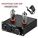 Headphone Amplifier Vacuum Tube Headphone Amp Mini Hi-Fi Stereo Audio with Low Ground Noise Output Protection for Headphones Fosi Audio P2