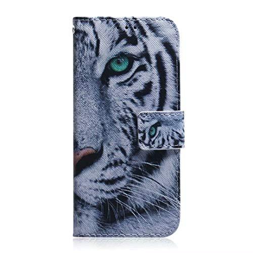 Funda para Samsung Galaxy A71 5G, diseño de pintura 3D con absorción de golpes, suave piel sintética, con soporte magnético para tarjetas y función atril para Samsung Galaxy A71 5G