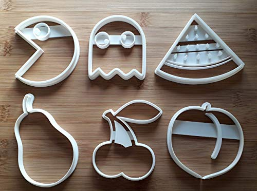 3D Printed Pac Man Inspired Cookie Cutters