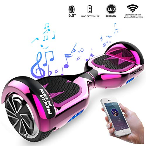 CITYSPORTS 6.5 Zoll Hoverboard (Rose Red)