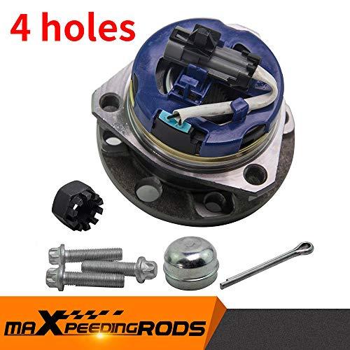 maXpeedingrods 120Mm Front Wheel Bearing Hub + Abs Sensor pour Astra G Mk4 98-06 Vkba3511 9117620