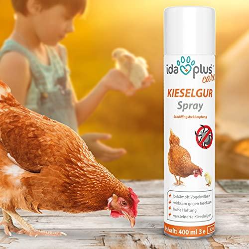 AniPlus – Kieselgur Spray 400 ml für Kaninchen & Nager gegen alle kriechenden Insekten und Schädlinge (100% biologisch) - 3