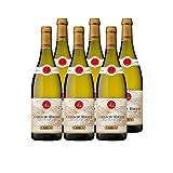 Côtes du Rhône Blanc 2018 - Maison Guigal - Vin AOC Blanc de la Vallée du Rhône - Cépages Viognier, Roussanne, Marsanne - Lot de 6x75cl