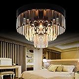 Lámpara de Techo de Cristal Lámpara de araña de Cristal de 5 Capas 20 Sala de Estar E14 * 8 Lámpara de Dormitorio LED Lámpara de Pasillo Luz de Pasillo Luz de Entrada Control Remoto/BOT