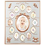 Radon'na Baby Frame MB84 12 Months Baby Frame Service Mini pink Gold Growth Record