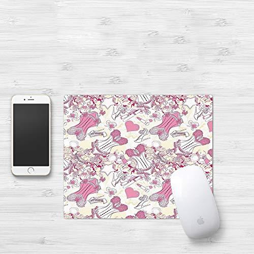 Comfortable Mouse Pad 320x250 mm,Niñas, accesorios de corsé sexy para mujer a...