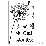 Icono de cuenta de mano Sello de silicona transparente transparente/Sello para álbum de recortes diy/Álbum de fotos Hojas de sello transparentes decorativas-Transparente (Claro)