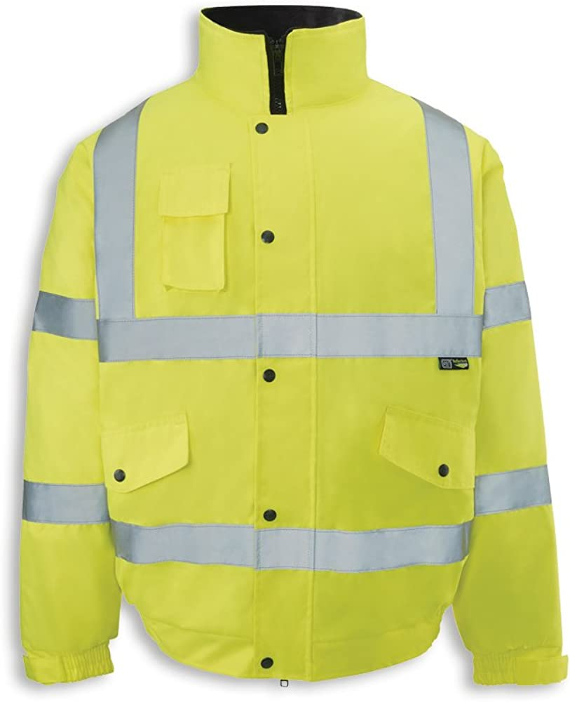 Alexandra Workwear Unisex Hi-Vis Bomber Jacket