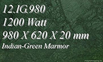 Calefacción por infrarrojos–Calefactor de infrarrojos eléctrico (mármol Magma Calefacción 1200W 12. IG.980