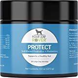 Four Leaf Rover: Protect - Soil-Based Probiotics for Dogs with Food-Based Prebiotics for Gut Health and Immune Support - Up to 90 Servings, Depending on Dog's Weight - Vet Formulated - for All Breeds