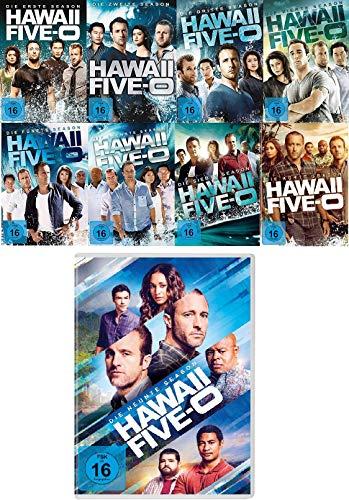 Hawaii Five-O - Staffel 1+2+3+4+5+6+7+8+9 im Set - Deutsche Originalware [55 DVDs]